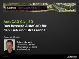AutoCAD Civil 3D WebCast