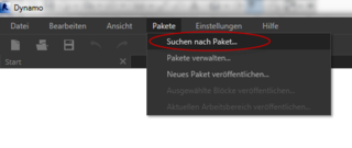 Dynamo-package manager